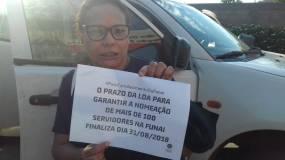 CR Xavante pelo fortalecimento da Funai. Barra do Garças/MT