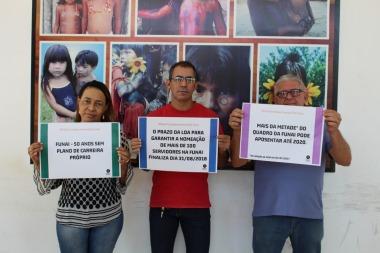 CR Araguaia Tocantins pelo fortalecimento da Funai. Palmas/TO
