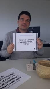 CR Litoral Sul pelo fortalecimento da Funai. Florianópolis/SC