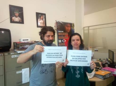 CR Litoral Sudeste pelo fortalecimento da Funai. Itanhaém/SP