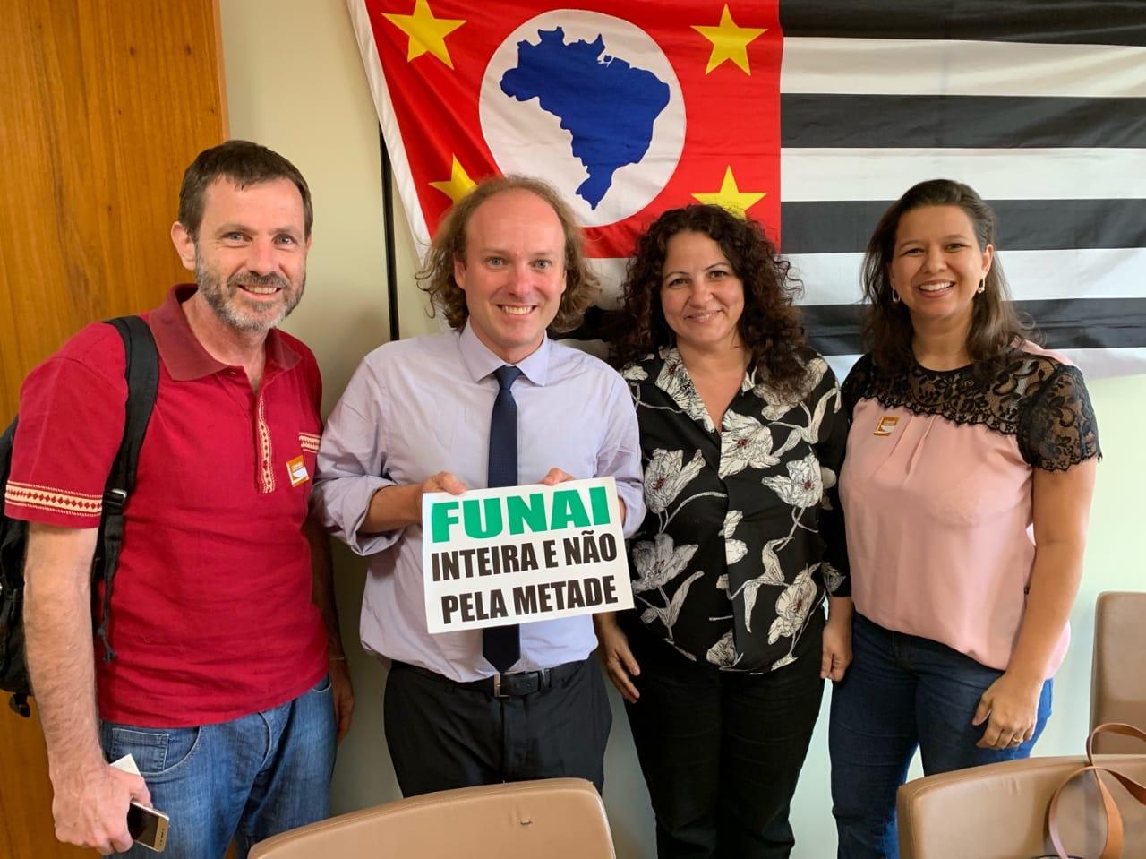 Presidente da Comissão de Meio Ambiente da Câmara dos Deputados declara apoio à INA na campanha Funai Inteira