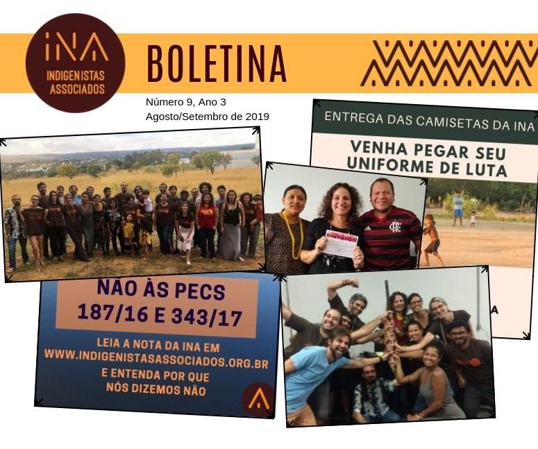 BoletINA nº 9 – agosto/setembro 2019