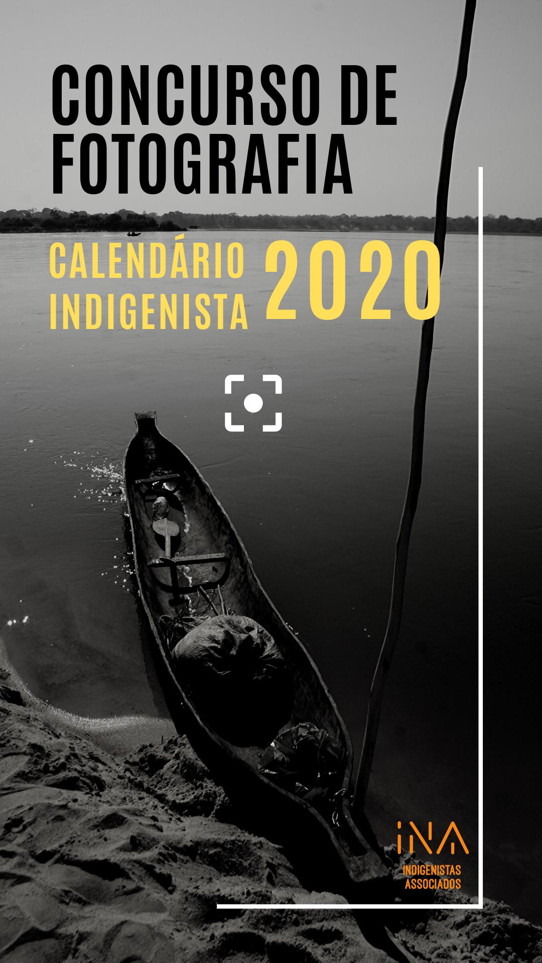 Concurso de Fotografia – Calendário Indigenista 2020